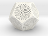 Voronoi Dodecahedron Lampshade ~ 120mm tall 3d printed