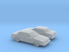 1/160 2X 1981-90 Pontiac 6000 3d printed