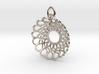 Infinity Heart Pendant 3d printed