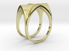 Gothic Vault Ring 3d printed