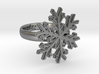 Snowflake Ring 1 d=17mm h35d17 3d printed