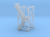 'N Scale' - 10'x10'x20' Tower With Outside Stairs 3d printed