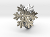 Snowflake Ring 1 d=18mm h35d18 3d printed