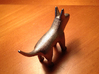 Henry the puppy 3d printed Printed, in Polished Nickel Steel