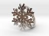 Snowflake Ring 1 d=19mm h35d19 3d printed