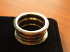 Engagement Ring - MEA FORTUNA IN MANIBUS TUIS 3d printed