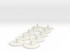 10-pack 15mm Grav/GEV Hover Stands 3d printed