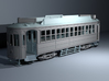 Auckland 1929 Tram - O Scale 1:43 (Part A) 3d printed