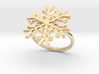 Snowflake Ring 1 d=17.5mm h21d175 3d printed