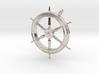Ship's Wheel Pendant 3d printed