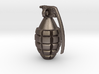 Keychain Grenade  solid &    25mm hight 3d printed