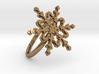 Snowflake Ring 2 d=18.5mm h21d185 3d printed