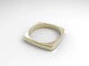 Square Ring 3d printed