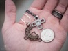Chrono Clock Pendant or Keychain 3d printed Chrono Clock Pendant pictured with D-Pad Pendant (not included)