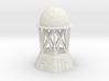 Radar Control Tower (Large Dome) 3d printed