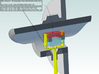 N: R-W Signal Lamp Swe Railroad 3d printed Info about the 0402 LED:S