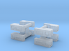 Baldwin DT6-6-2000 Marker Lights x8 N Scale 1:160 3d printed