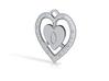 Heart 33mm Gemhole 3d printed