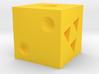 Yellow 3d printed