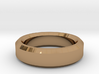Ring Size 8 (Chamfered) 3d printed