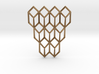 Tumbling Cubes Pendant 3d printed