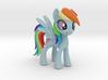 Rainbow Dash 3d printed