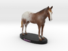 Custom Horse Figurine - Rusty 3d printed