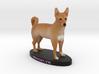 Custom Dog Figurine - Brooklyn 3d printed
