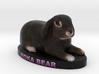 Custom Pet Figurine - MokaBear 3d printed