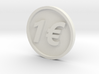 One Euro Coin 3d printed