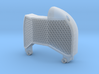 1/32 Fokker D.VII Radiator Shell (late style) 3d printed