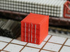 N Scale 10ft Container WSF 3d printed This model in Frosted Ultra Detail
