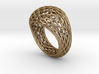 Hexagonal ring size 9 3d printed