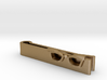Hipster Glasses Tie-Clip Female 3d printed