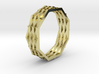 Rainbow Bridge Ring  3d printed