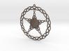 Triqueta Pentacle Pendant 3d printed