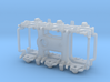 ATSF PASSENGER CAR TRUCKS, straight equalized 3d printed