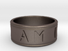 I AM | AM I Ring - size 7 3d printed