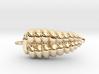 Rattlesnake Rattle Pendant/Earring 3d printed