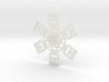 Turbo Buddy Snowflake Ornament 3d printed