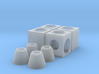 HO Storm Sewer Jct Box Concentric 3d printed