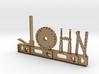 John Nametag 3d printed