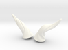 Horns Twist Vine: MSD horns pointing Sideways 3d printed