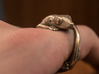 (Size 4) Gecko Ring 3d printed