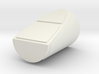 1/48th scale Side Booster Cap for Hawk Left 3d printed