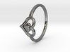 Heart Ring Size 6.5 3d printed