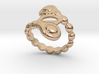 Spiral Bubbles Ring 25 - Italian Size 25 3d printed