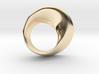 Möbius ring left hand 3d printed