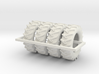 1/64 480/70r34 R1 X 4 Tractor Tires 3d printed