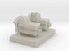 Orenstein Koppel RL1C Montania Gearbox 1:87 H0e 3d printed